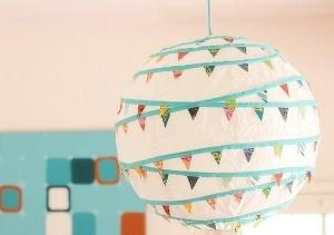 paper lantern washi tape