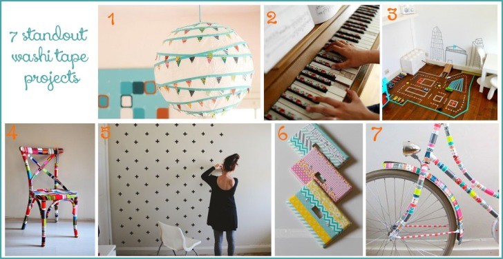 Standout washi tape projects