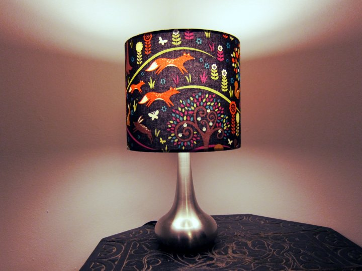 Foxtrot lampshade