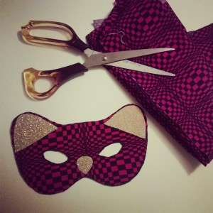 Cat masks by Burday