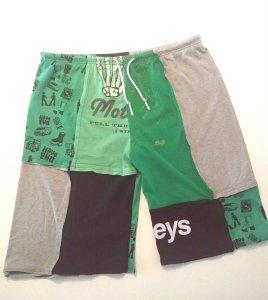 Upcycled T-shirts Pyjama Shorts